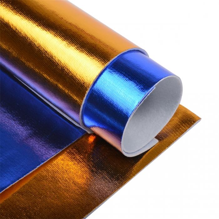 Набор листового фетра металлизированный IDEAL 1,4мм 20х30см арт.FLT-ME1 уп.4 листа цв.ассорти