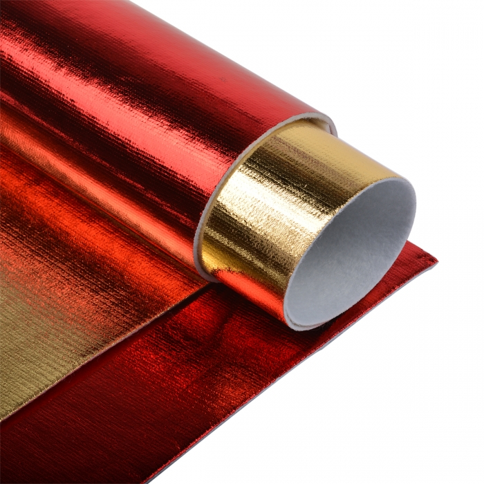 Набор листового фетра металлизированный IDEAL 1,4мм 20х30см арт.FLT-ME2 уп.4 листа цв.ассорти
