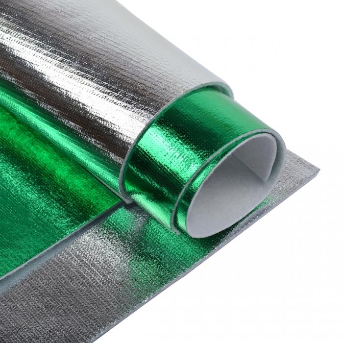 Набор листового фетра металлизированный IDEAL 1,4мм 20х30см арт.FLT-ME3 уп.4 листа цв.ассорти