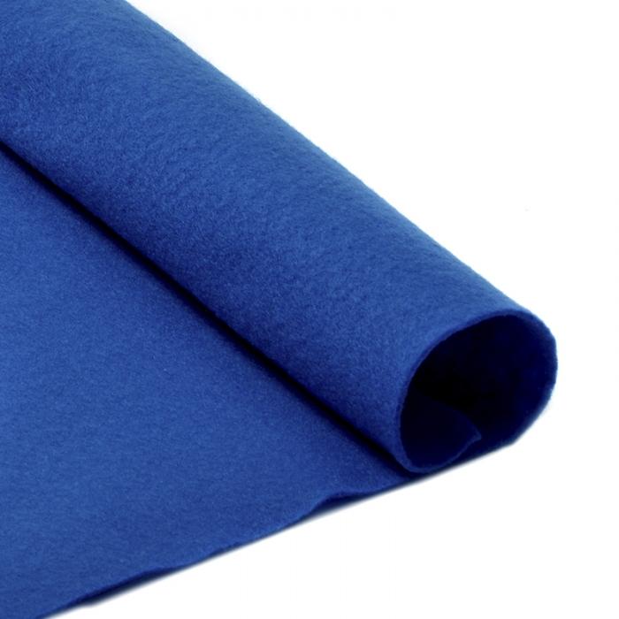 Фетр в рулоне жесткий IDEAL 1мм 100см арт.FLT-H2 уп.10м цв.675 синий