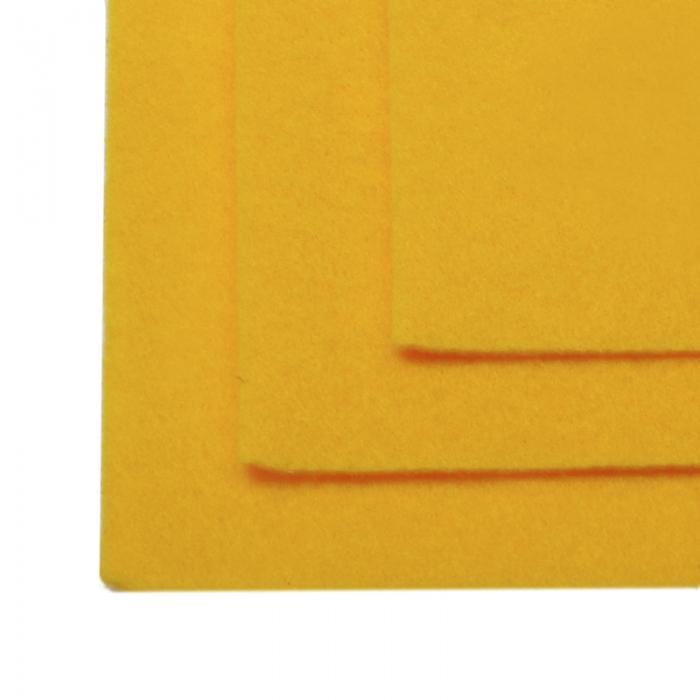 Фетр листовой жесткий IDEAL 1мм 20х30см арт.FLT-H1 уп.10 листов цв.640 апельсин