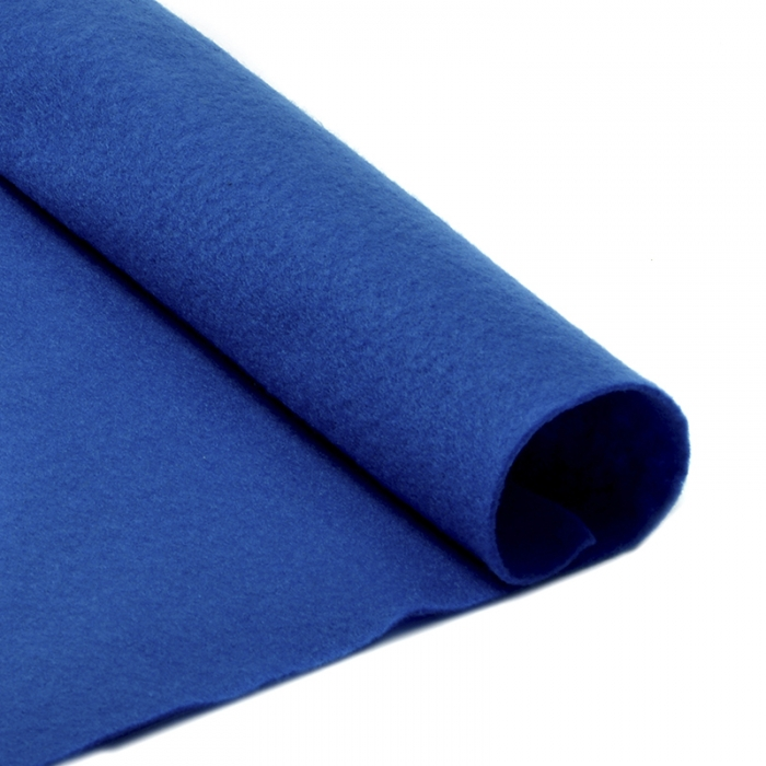 Фетр в рулоне жесткий IDEAL 1мм 100см арт.FLT-H2 уп.5м цв.675 синий
