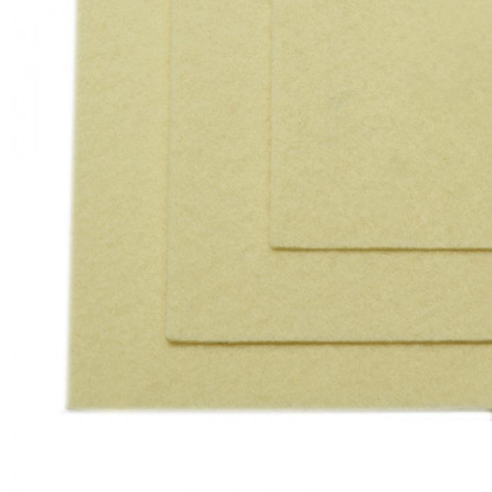 Фетр листовой жесткий IDEAL 1мм 20х30см арт.FLT-H1 уп.10 листов цв.647 топ.молоко