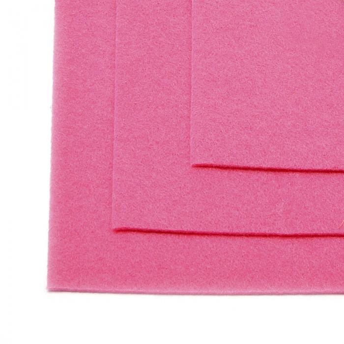 Фетр листовой мягкий IDEAL 1мм 20х30см арт.FLT-S1 уп.10 листов цв.614 розовый