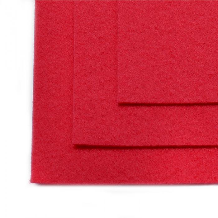 Фетр листовой жесткий IDEAL 1мм 20х30см арт.FLT-H1 уп.10 листов цв.610 т.розовый