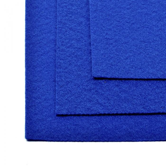 Фетр листовой жесткий IDEAL 1мм 20х30см арт.FLT-H1 уп.10 листов цв.675 синий