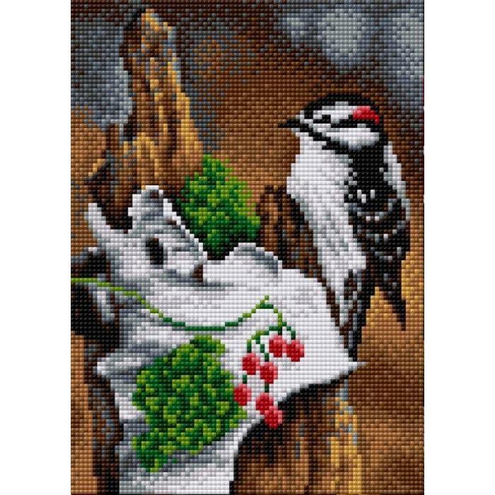 Набор для изготовления картин со стразами Вышиваем бисером на магнитной основе арт.ВБ.V-125 20х28 см