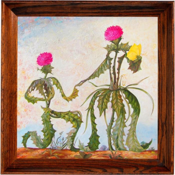 Набор Колор Кит мозаичная картина арт.КК.10022 Возлюбленные 40х40