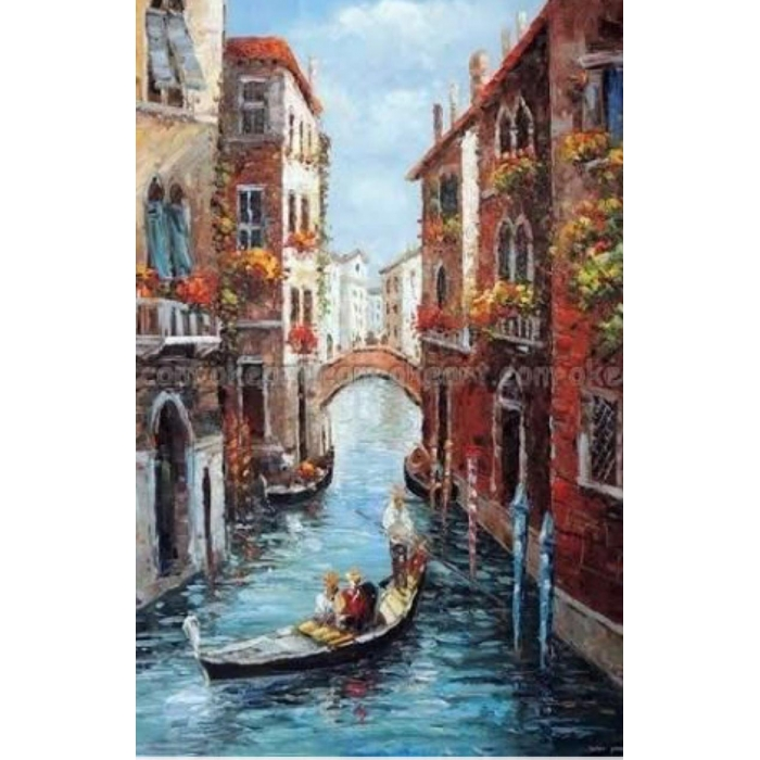 Алмазная вышивка Венецианский карнавал LG093 40х50 тм Цветной