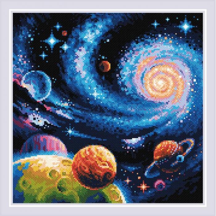 Набор РИОЛИС мозаичная картина арт.AM0047 Иные миры 40х40 см