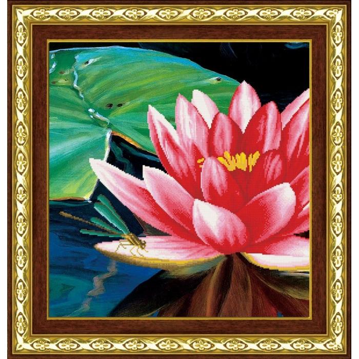 Набор Колор Кит мозаичная картина арт.КК.80028 Цветок лотоса 55х55