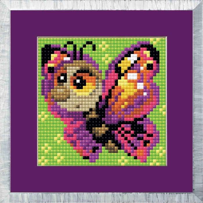Набор РИОЛИС мозаичная картина арт.AM0022 Бабочка 10х10 см
