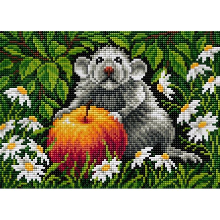 Набор для изготовления картин со стразами Вышиваем бисером на магнитной основе арт.ВБ.V-115 20х28,5 см