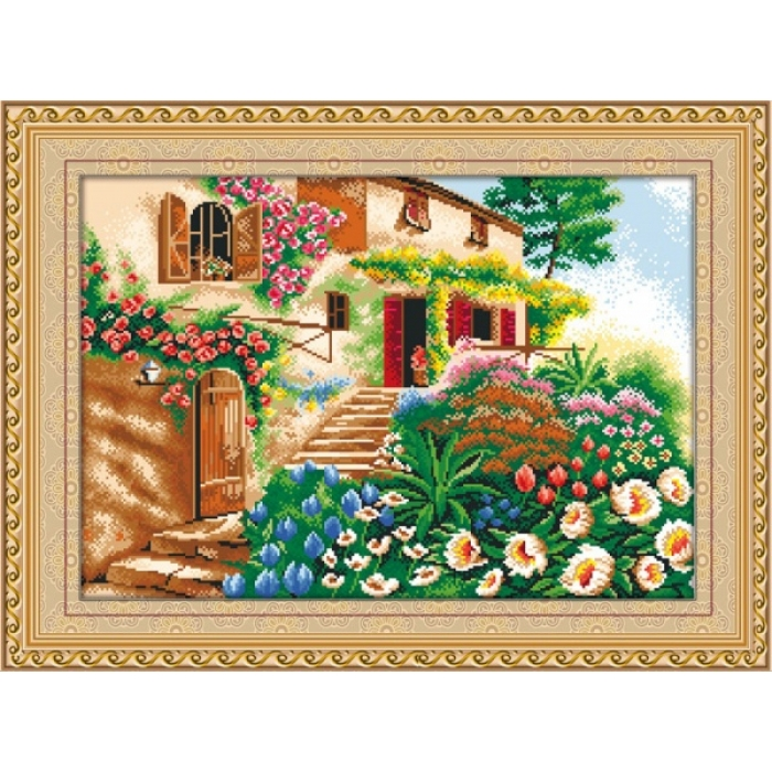Набор Колор Кит мозаичная картина арт.КК.MO015 Лето 68х47
