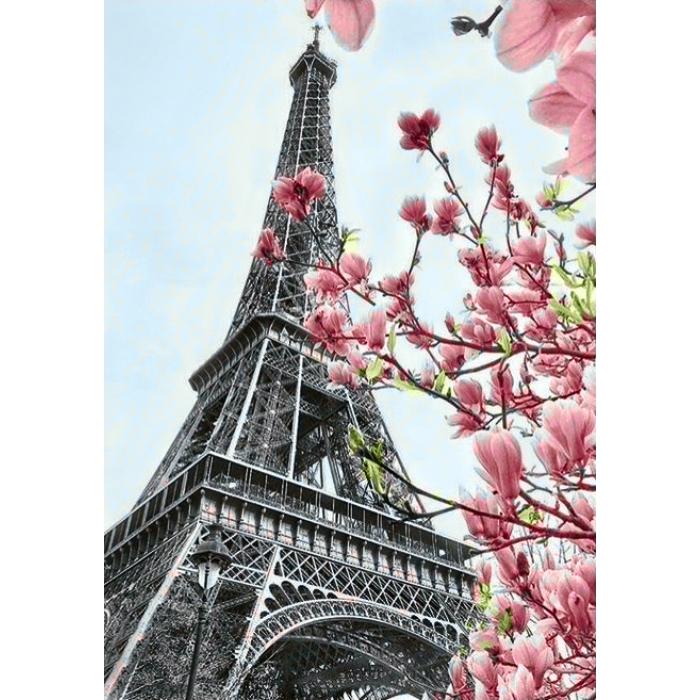 Алмазная мозаика на холсте ГРАННИ арт.Ag055 Символ Парижа 20х30см
