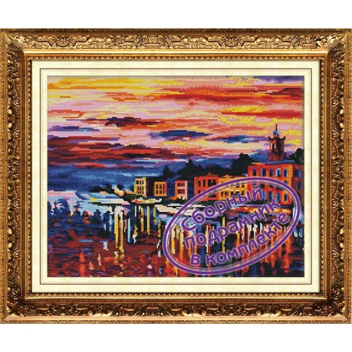 Набор Колор Кит мозаичная картина арт.КК.MO031 Ночные блики 40х50
