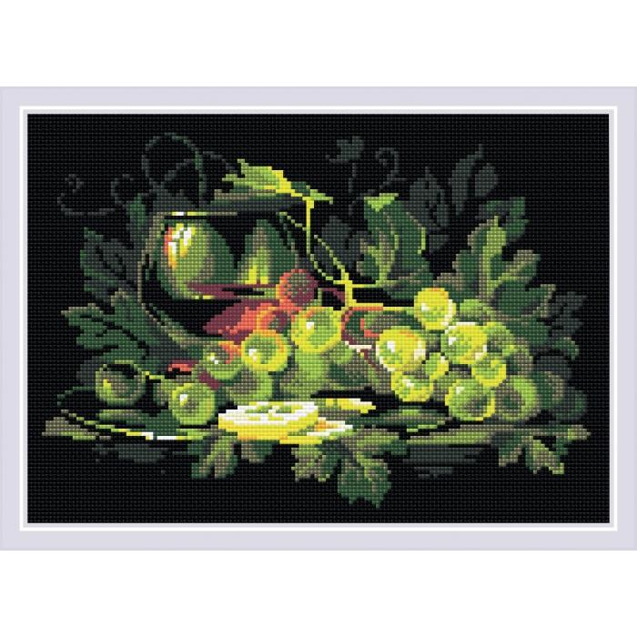 Набор РИОЛИС мозаичная картина арт.AM0026 Натюрморт с лимоном 38х27 см