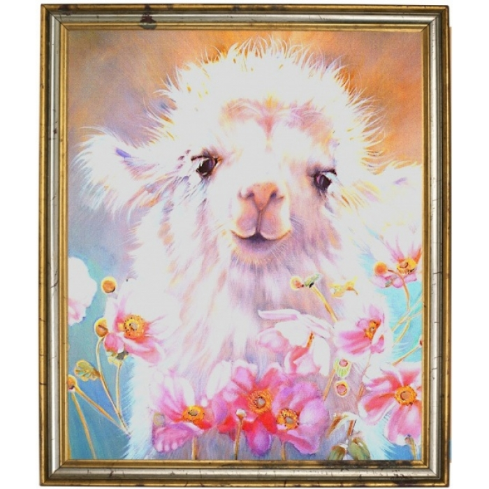 Набор Колор Кит мозаичная картина арт.КК.404003 Милый верблюжонок 40х40