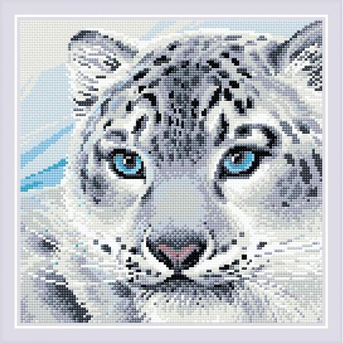 Набор РИОЛИС мозаичная картина арт.AM0040 Барс 30х30 см