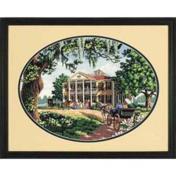 Набор для вышивания DIMENSIONS арт.DMS-35010 Южный дом 41х30 см
