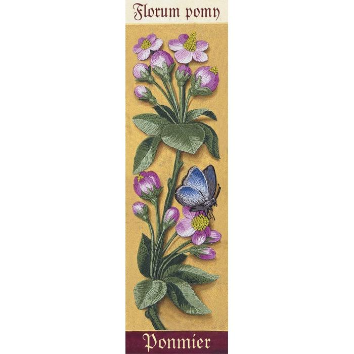 """Набор для вышивания PANNA """"Живая картина"""" арт. JK-2121 Ботаника. Яблоня 7х24,5 см"""