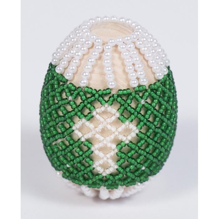 Набор для бисероплетения МАТРЕНИН ПОСАД арт.8403 Пасхальное яйцо Светлый праздник 4,6х6,2 см