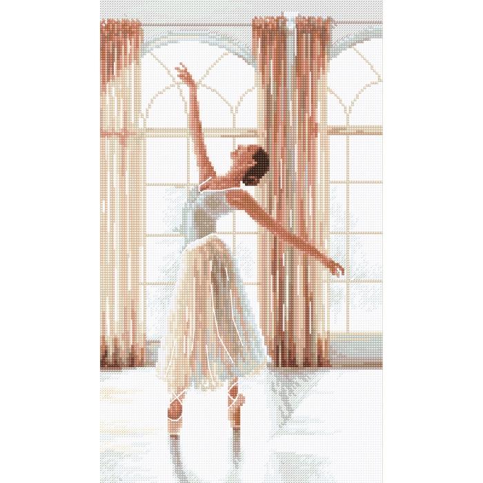 Набор для вышивания LETI арт. 906 Балерина 32х19 см