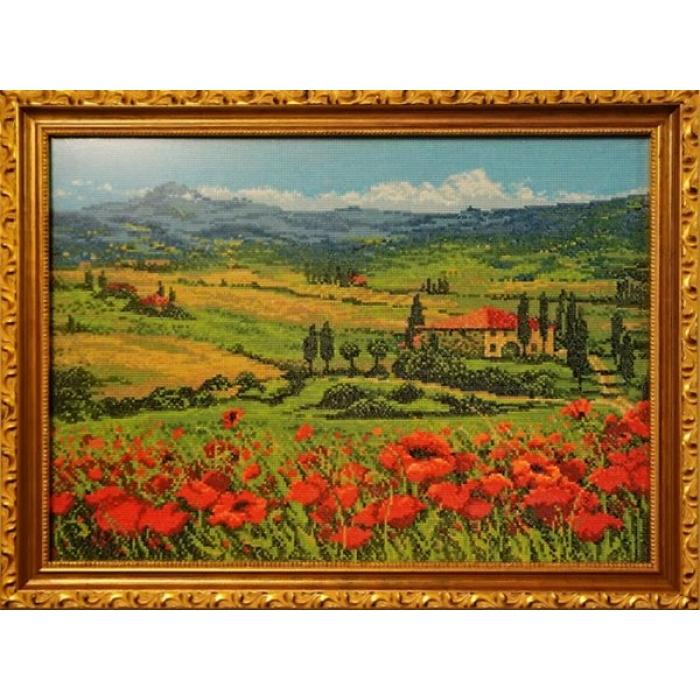 Набор для вышивания РИОЛИС арт.100/001 Тоскана 40х30 см