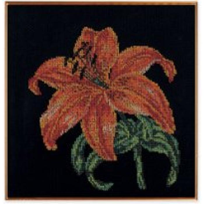 Набор для вышивания бисером КРОШЕ арт. В-139 Королева ночи 30х30 см