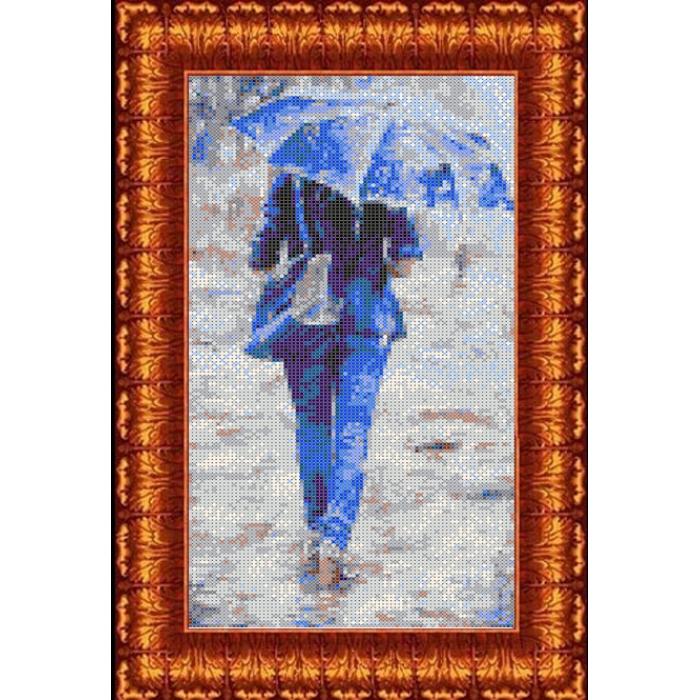 Канва с нанесенным рисунком КАРОЛИНКА арт. КК-028 К судьбе 20х30 см