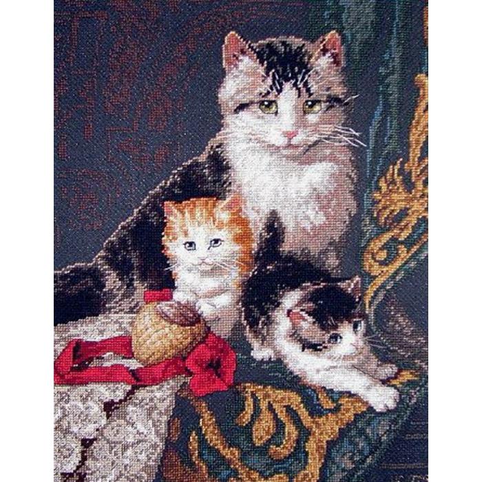 """Набор для вышивания Classic Design арт.4340 """"Семейный портрет"""" 27х35 см"""