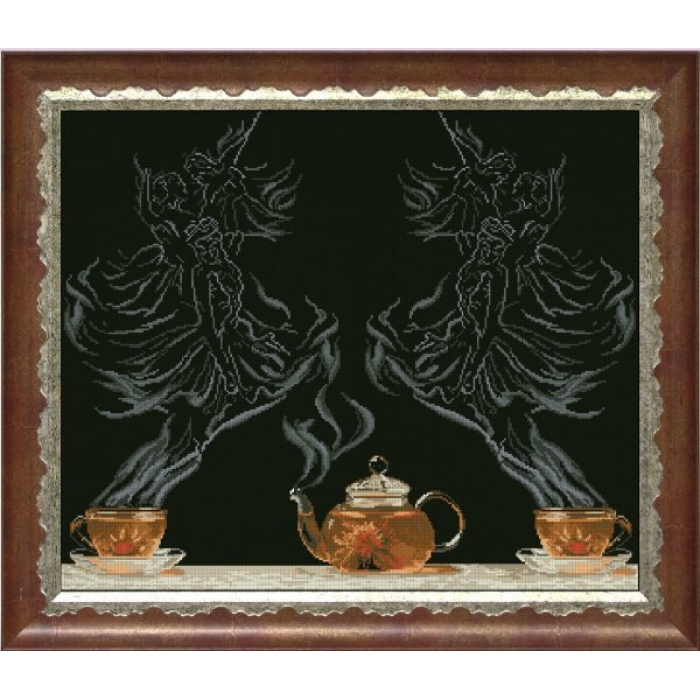 Набор для вышивания мулине КРАСА И ТВОРЧЕСТВО арт.20713 ЧФ-балет 1 54,5х45,3 см