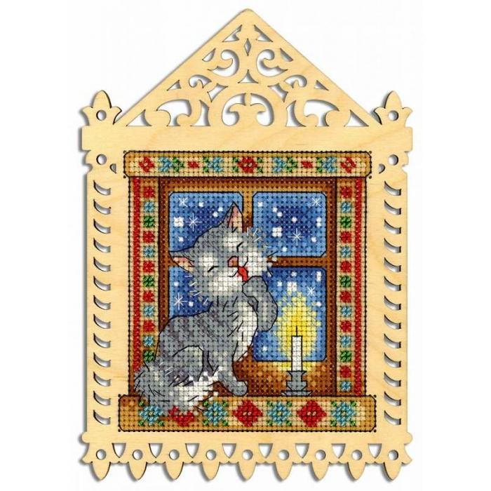 Набор для вышивания Щепка арт.О-001 Зимний вечер 19х14/11х10 см