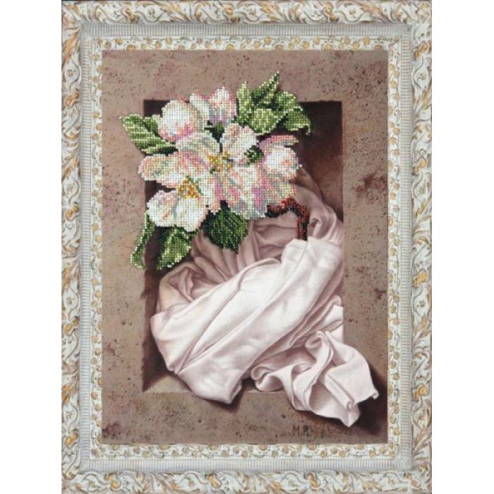Набор для вышивания бисером КРАСА И ТВОРЧЕСТВО арт.31210 Вдохновение 24,8х34,5 см