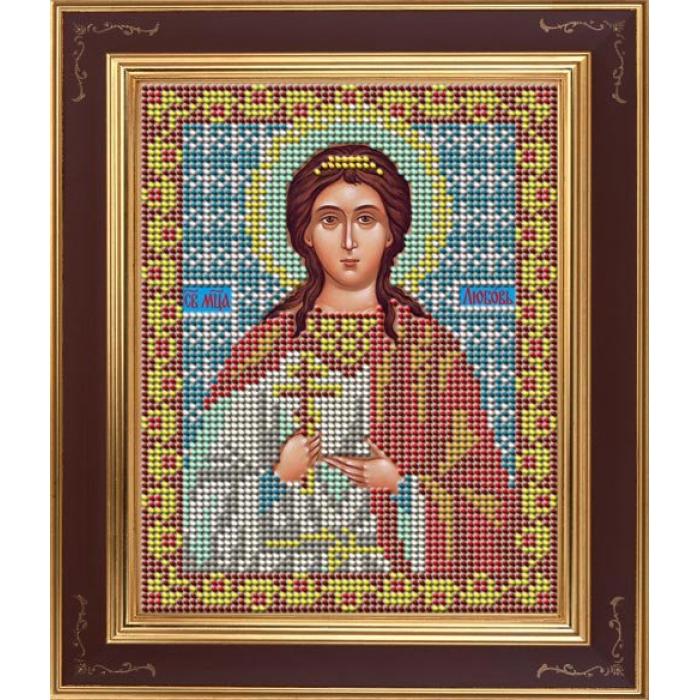 Набор для вышивания бисером GALLA COLLECTION арт.М 222 Св. Любовь 12х15 см