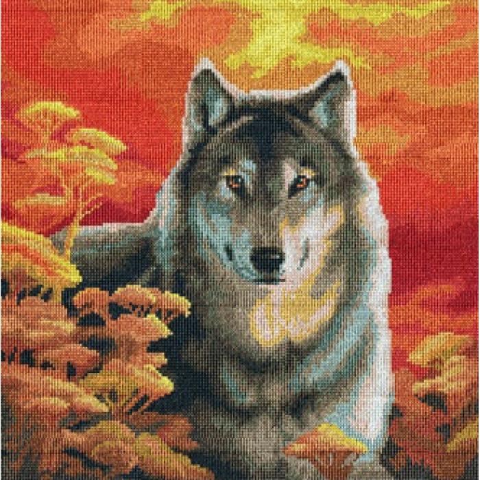 Набор для вышивания мулине НИТЕКС арт.0041 Велес 33х33 см