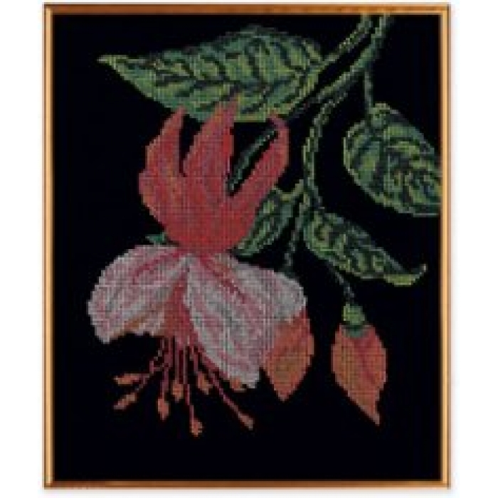Набор для вышивания бисером КРОШЕ арт. В-140 Нежная фуксия 25х30 см