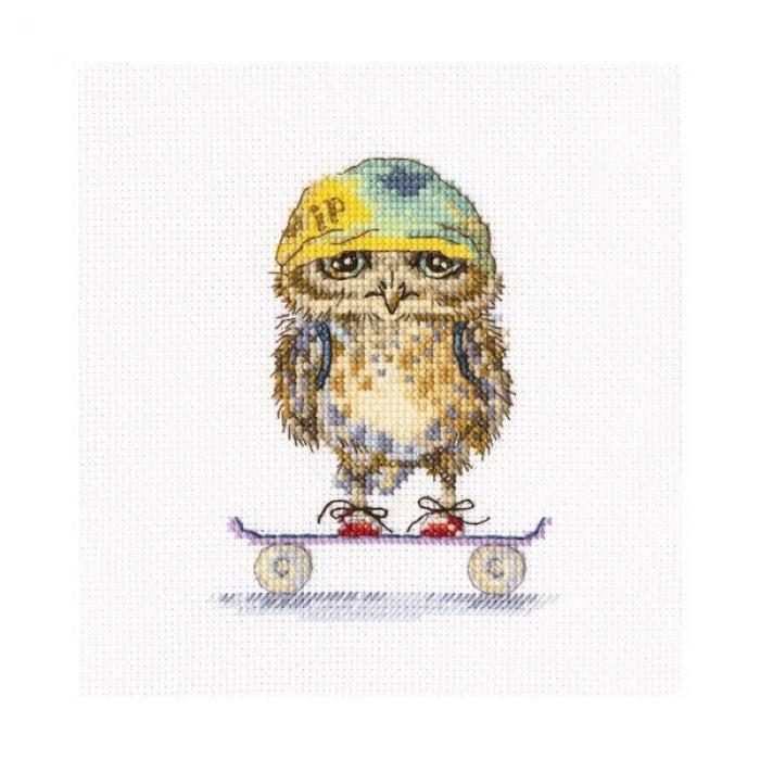 Набор для вышивания РТО арт.C224 Скейтбордист 10х15 см