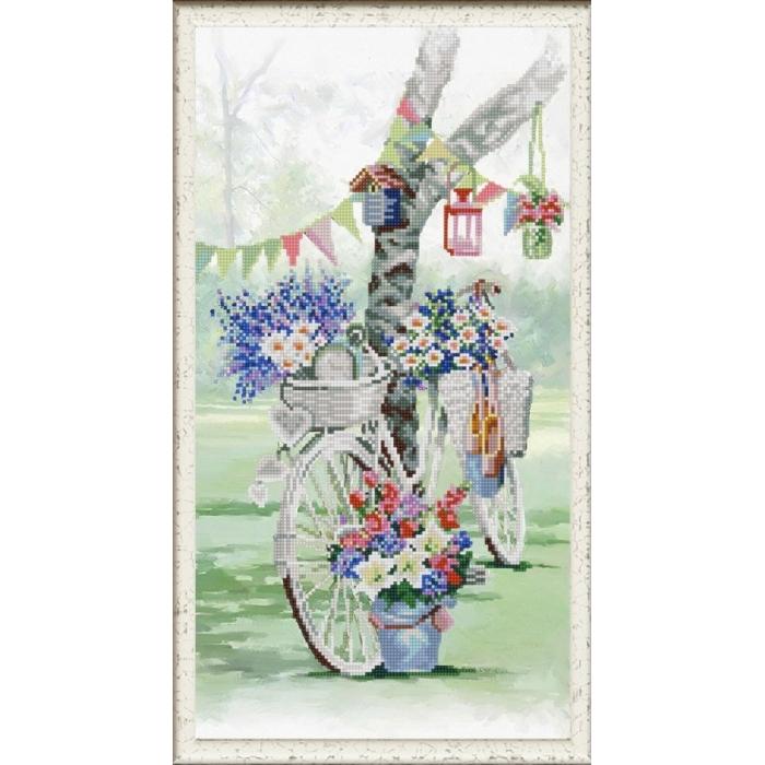 Рисунок на ткани (Бисер) КОНЁК арт. 1274 Прованский праздник 25х45 см