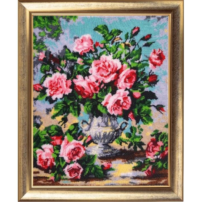 Набор для вышивания BUTTERFLY арт. 168 Аромат роз 33х27 см