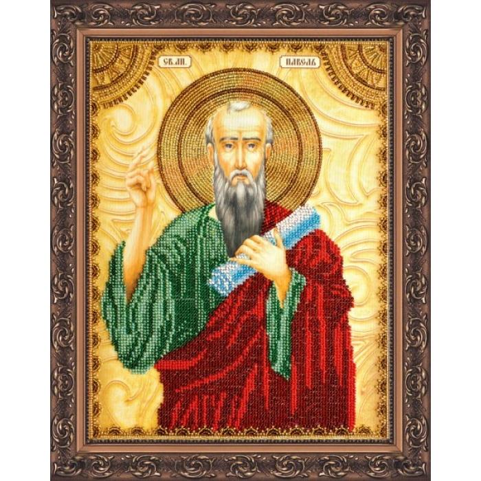 Набор для вышивания бисером АБРИС АРТ арт. AA-022 Св.Павел 23х30 см