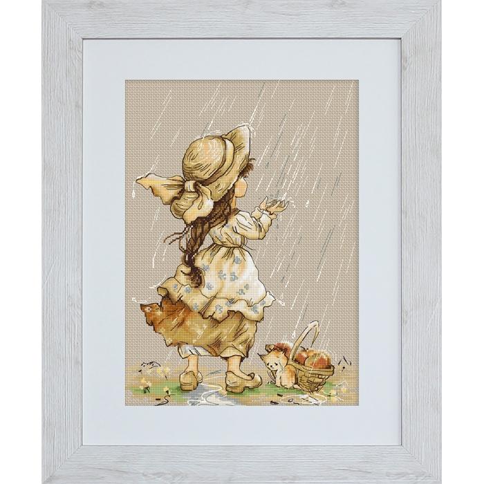 Набор для вышивания LUCA-S арт. B1077 Летний дождь 22х30,5 см