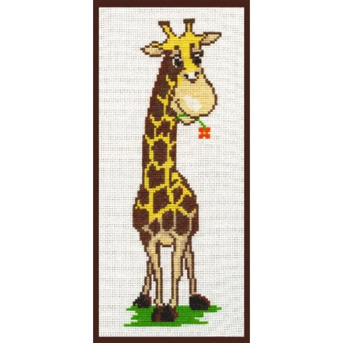 Набор для вышивания ПАЛИТРА арт.05.002 Жирафик 9х25 см