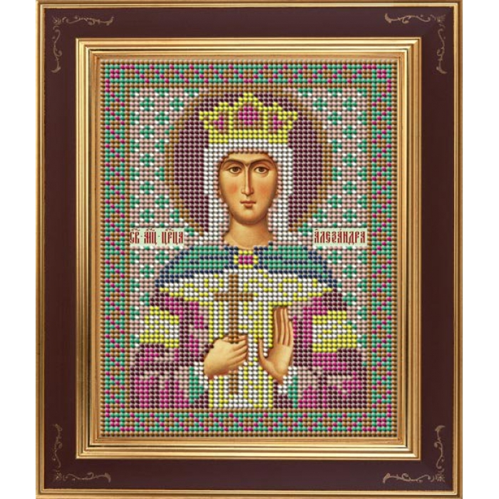 Набор для вышивания бисером GALLA COLLECTION арт.М 232 Св.мученица Александра Римская 12х15 см