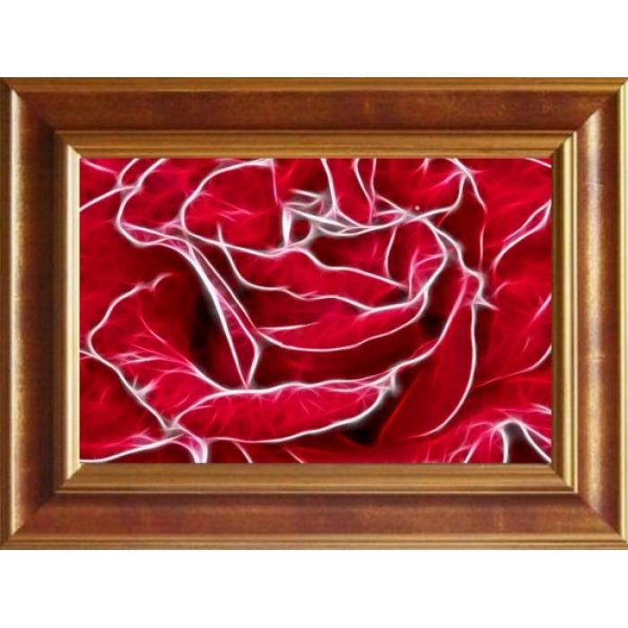Набор для вышивания бисером ИМПЕРИЯ БИСЕРА арт.ИБ-018 Роза 36х56 см