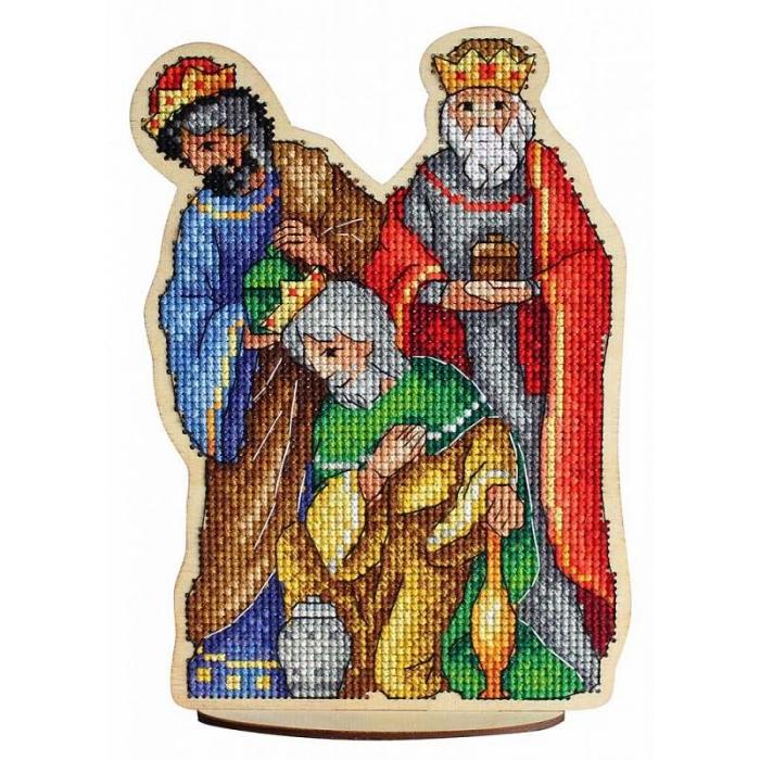 Набор для вышивания Щепка арт.О-029 Волхвы 13х18 см