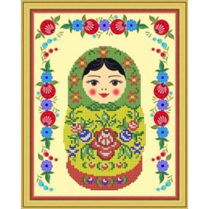 Набор для вышивания бисером GALLA COLLECTION арт.Л 310 Городец 19х24 см