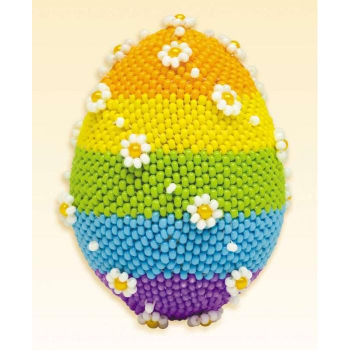 Набор для бисероплетения РИОЛИС арт.Б167 Яйцо пасхальное 6,5х4,5 см
