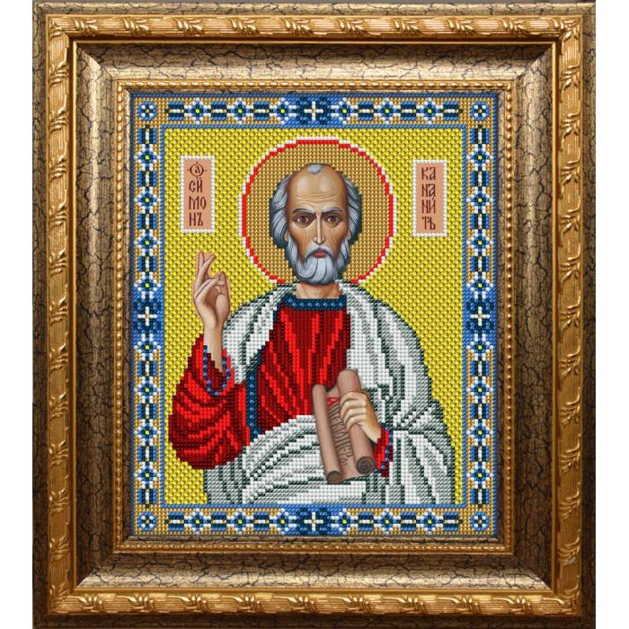 Набор для вышивания бисером ВЫШИВАЕМ БИСЕРОМ арт.L130 Святой Симон Кананит 20х24,4 см