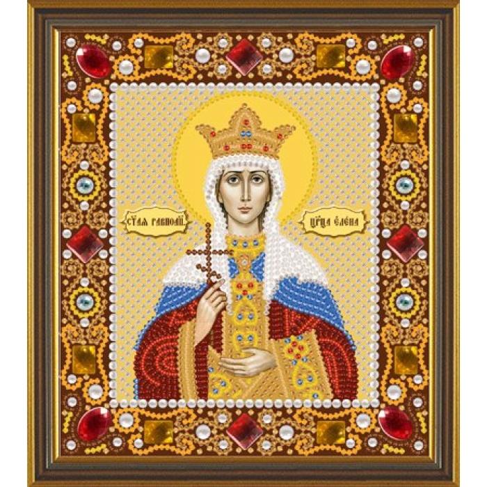 Набор для вышивания бисером НОВА СЛОБОДА арт.Д6153 Св.Царица Елена 13х15 см